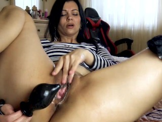 husband's cock now seems small, but I found a way out