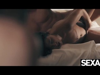 Horny couple hump energetically in a wild sixty-nine suck session