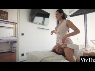 Curvy lesbians lick each others moist pussies