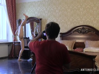 Ballerina Annett A., her sensuality and flawless flexible body. Preview.